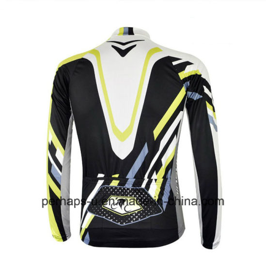 Custom Long Sleeve Cycling Shirt with Sublimation Print pictures & photos