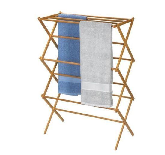 China Bathroom Towel Shelf Rack Bamboo Bathroom Shelf for Bathroom ...
