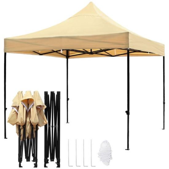 3X3m Steel Outdoor Pop up Folding Gazebo pictures & photos