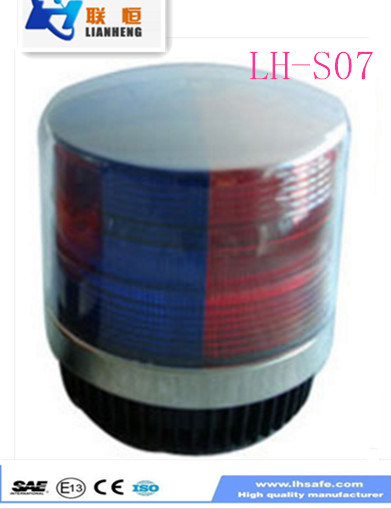 DC12/24V Clear\Red\Blue\Amber (optional) LED Warning Strobe Light LED Beacon Lh-S07-1 pictures & photos