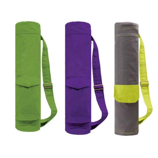 d6eb2f80c6 Customize Canvas Waterproof Yoga Mat Bag Yoga Mat Carry Bag pictures    photos