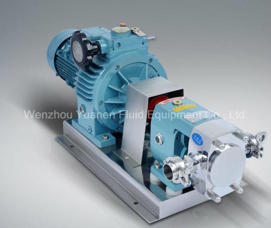 Stainless Steel Milk Rotor Pump