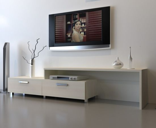China Modern Simple Tv Cabinet With Two Drawers China Tv Cabinet