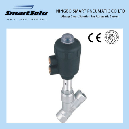 Smart Tpc Series Plastic Atuator Angle Flow Control Valve pictures & photos