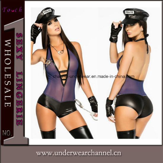 Theatrical Halloween Adult Sexy Lingeries Uniform Party Costume (16001) pictures & photos