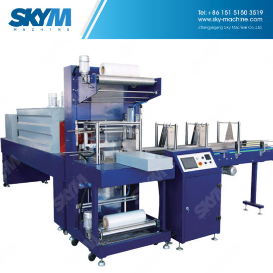 Automatic High Speed Line Type PE Film Shrink Wrapping Machine pictures & photos