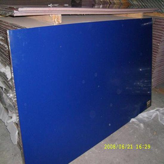 18mm Dark Blue UV MDF for Kitchen Cabinet Door
