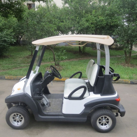 Four Wheel CE Approved New Designed Electric Golf Car with Aluminum Chassis Frame pictures & photos