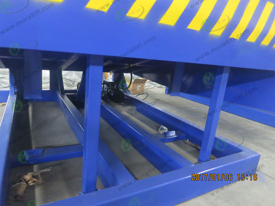 Hydraulic Container Lifer Ramp with CE pictures & photos