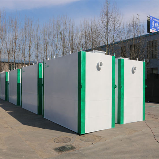 Underground Sewage Treatment Equipment for Office Block Wastewater Treatment