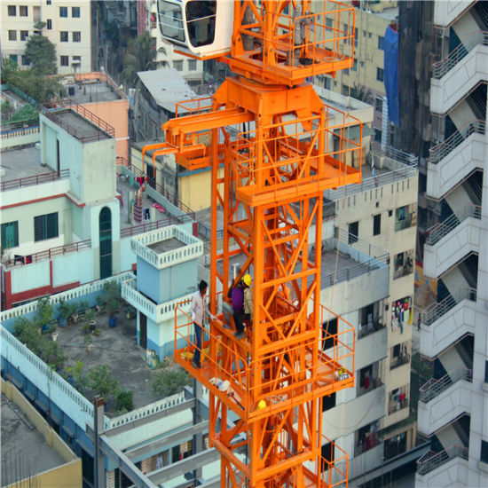 7030 Model 16t Top Kit Tower Crane pictures & photos