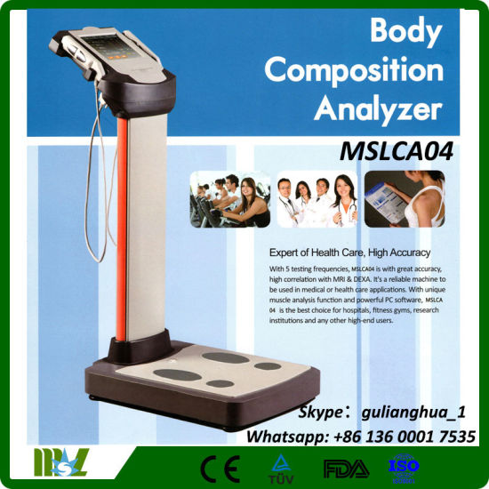 Ce, FDA Proved Original Russian 3D Nls Body Health Analyzer Machine Mslca04 pictures & photos