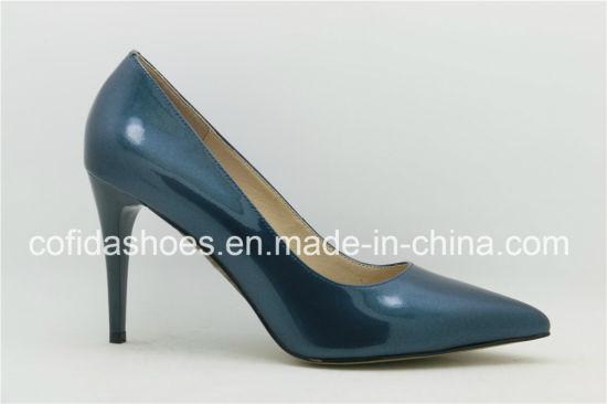 4fbf3740a China Newest Elegant High Heel Leather Lady Shoes - China High Heels ...
