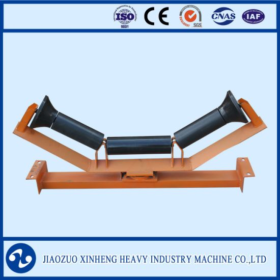 Belt Conveyor Carrier Idler / Conveyor Roller for Belt Conveyor System pictures & photos