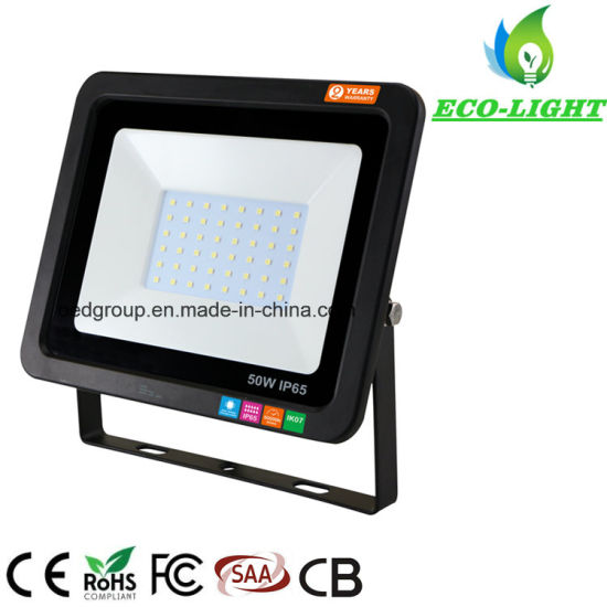 Factory Direct 50W High Power Waterproof High Brightness SMD LED Ultra-Thin Floodlight for Outdoor Advertising Lighting