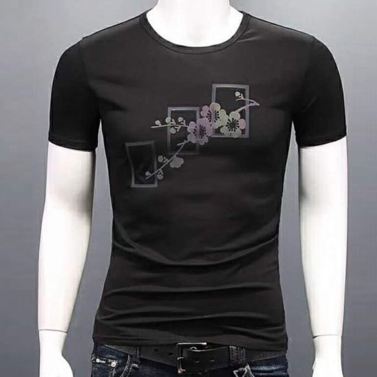 Manufacturer Customized Cotton Single Jersey Men′s T-Shirt ODM OEM Factory pictures & photos