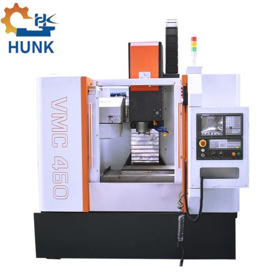 Mini Vmc460L 3 Axis CNC Milling Drilling Cutting Machine Center with Tool Changer