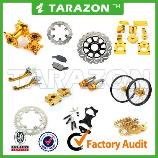 Aluminum Alloy / Stainless Steel off-Road Motorcycle Spare Parts for Suzuki
