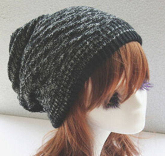 633b48eae4b Unisex Knit Baggy Beanie Beret Winter Warm Oversized Hat pictures   photos