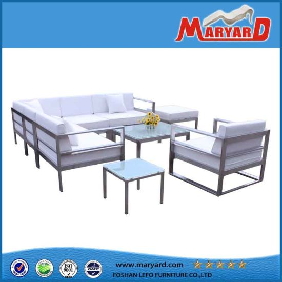 Stainless Steel Sofa Set Stand All Weather Outdoor Furniture