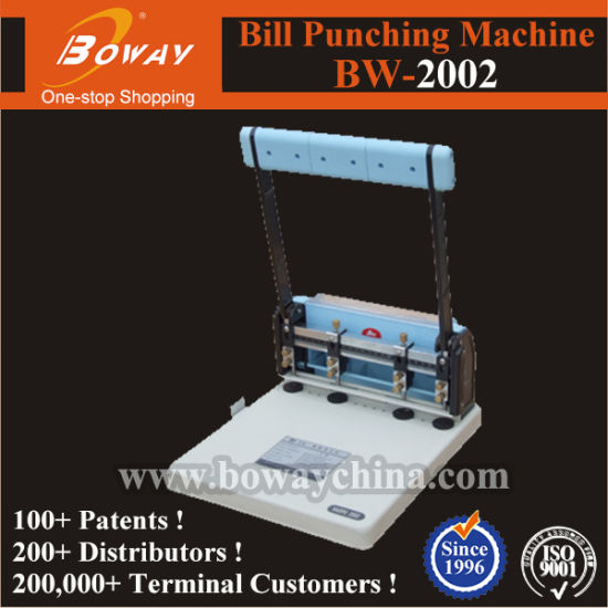 Bill Punching Machine (BW-2002) pictures & photos