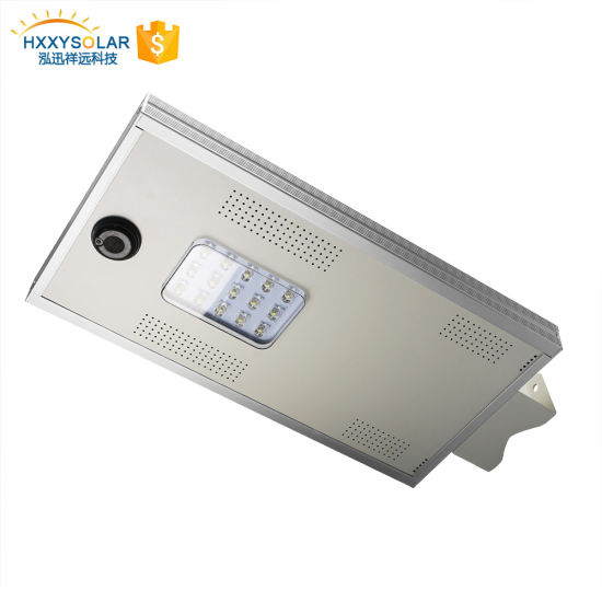 Factory Latest Panel Price Waterproof IP65 Solar Integrated Street Light 15W pictures & photos