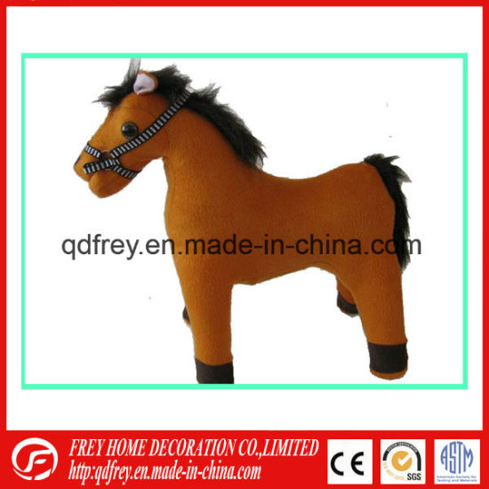 Hot Sale Rocking Plush Toy Horse for Holiday Gift pictures & photos