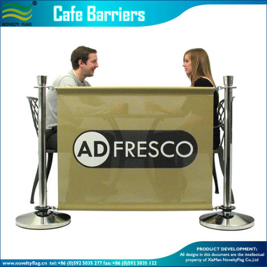 Custom 1m High Cafe Barrier Advertising Barrier (M-NF22M01109) pictures & photos