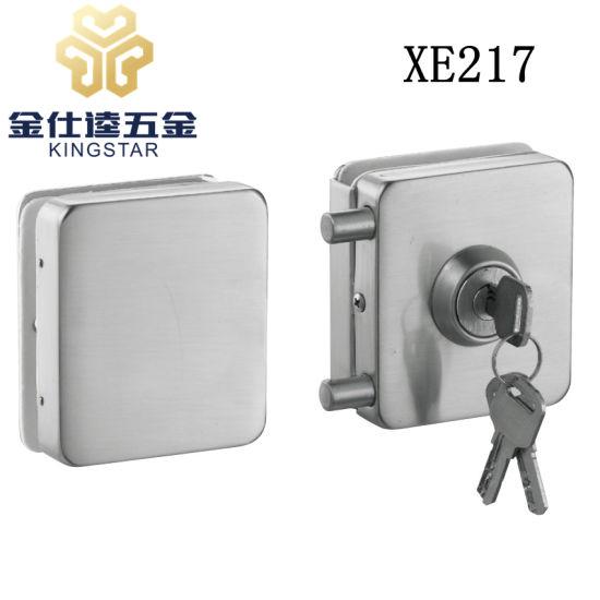 China Double Door Stainless Steel Glass Door Lock Glass Lock Clamp