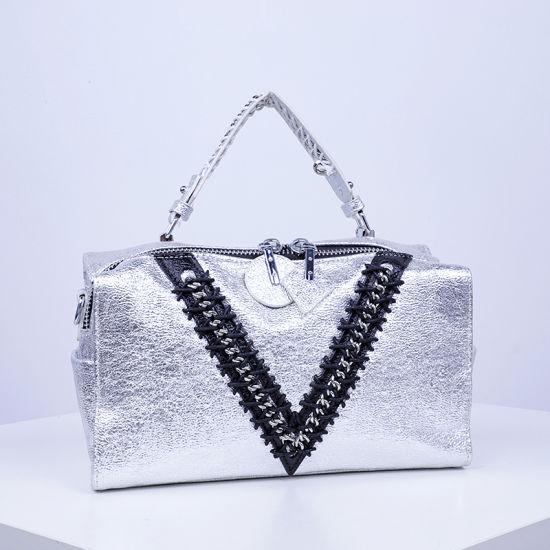 Fashion Trendy PU Women Handbag Boston Bag in China Sh645
