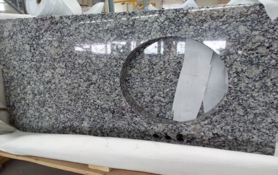 Natural White Granite Countertop for Decorates/Kitchen/Bathroom/Vanity Top