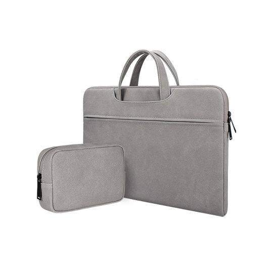 PU laptop bag handbag briefcase Laptop liner bag Unisex
