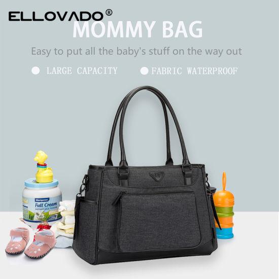 Multi-Function Baby Diaper Bag Large Capacity Nappy Tote Bag