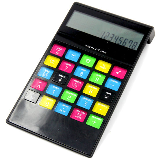Colorful Office Financial Electronic Calculator 8 Digits Stationery