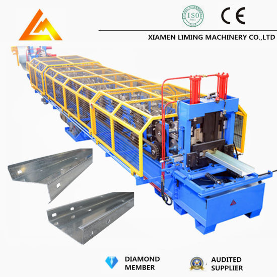 New Customized PLC Control System High Speed Full Automatic Hydraulic Motor Drive CZ Purlin Roll Forming Machine with Ce/ISO9001