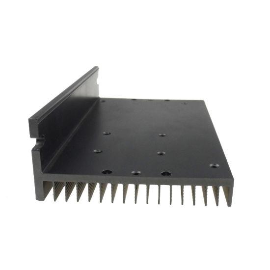 Power Amplifier Heat Sink LED Aluminum Extruded