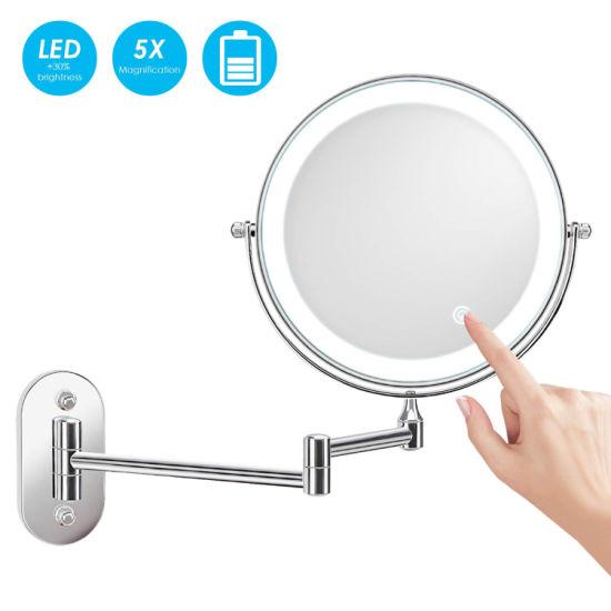 Hotel Bathroom Furniture 8 Battery, Battery Makeup Mirror