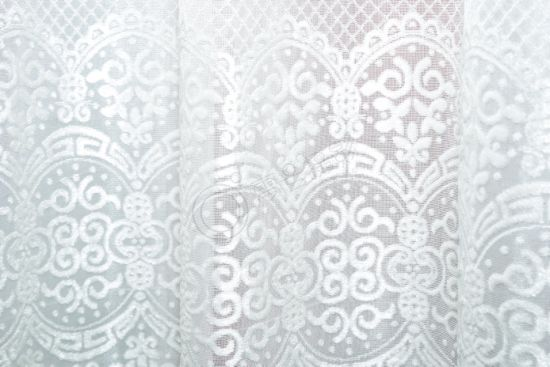 Chinese Style Soft Curtain Fabric 100% Polyester Upholstery