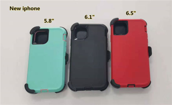 "Rugged Robert Case with Belt Clip for 2019 New iPhone 11 (6.1"", 5.8"", 6.5"") , TPU+PC 4 in 1 Defender Phone Case/Cover"
