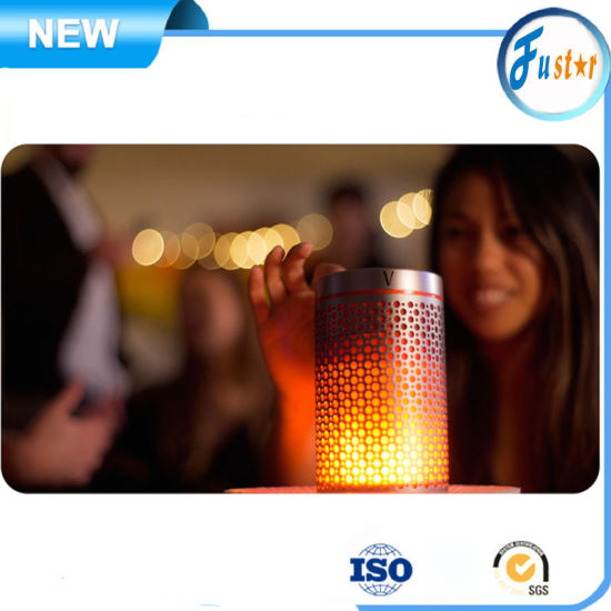Hi-Fi Level Sound Flame LED Mini Portable Wireless Bluetooth Audio Receiver