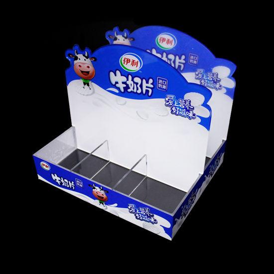 Custom Design Grid Acrylic Candy Food Products Display Box