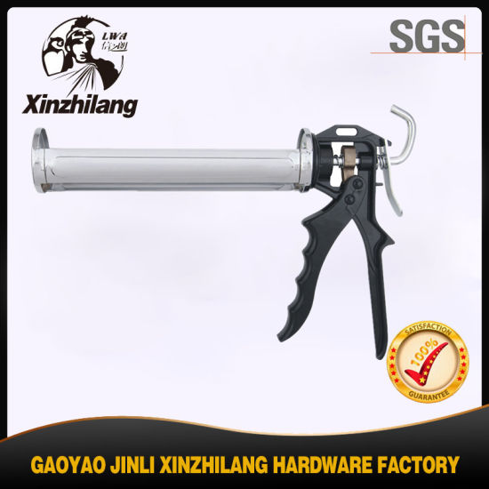 China Mini Caulking Gun Wholesales Popular Aluminum Tube Plastic Silicone Refillable Caulking Gun