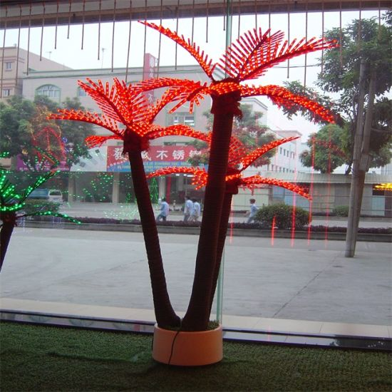 Palm Tree Light Led, Outdoor Lighted Trees Artificial