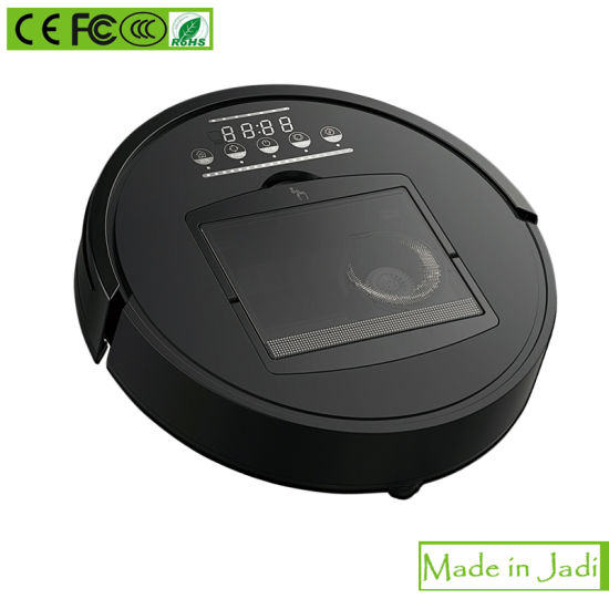 Fixed Point Cleaning Function High Suction Robot Vacuum Cleaner pictures & photos