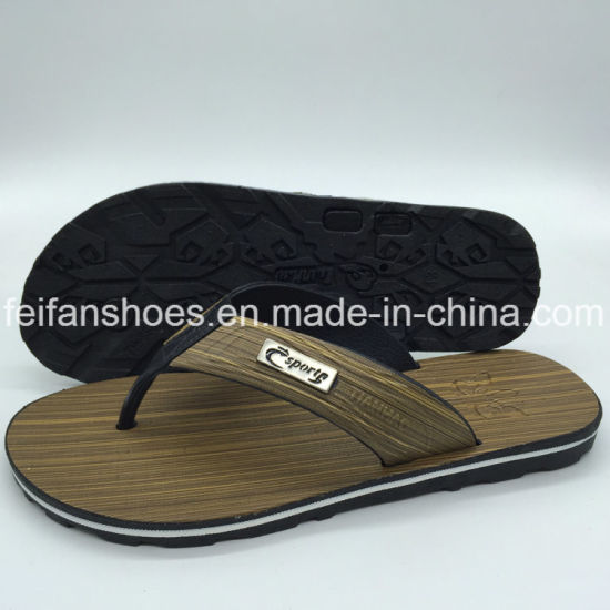 51f706656 Newest Hotsale Cheap Men Beach Flop Flips PVC Slippers for Custome  (FCL898+10)