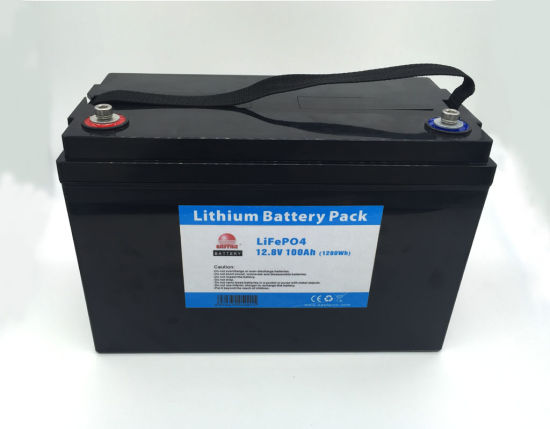 Smart Deep Cycle 12V 100ah LiFePO4 Lithium Battery for Solar System pictures & photos