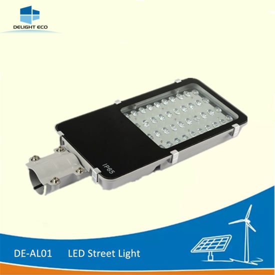 Delight Q235 Hot-DIP Galvanized Steel 12V/24V Solar LED Street Light pictures & photos