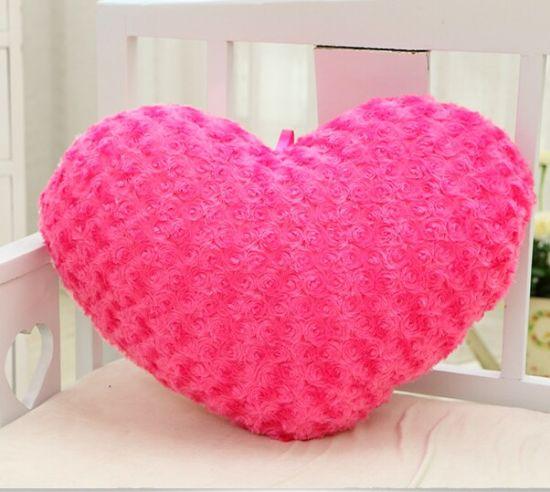 Love Shape Romantic and Beautiful Pillows