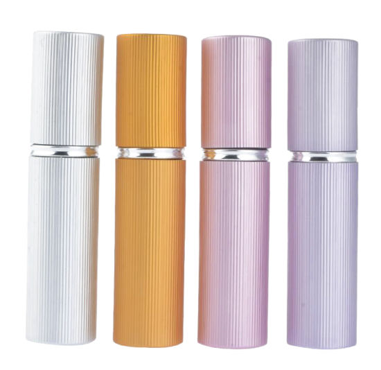 ab3fd74ac664 China 5ml Multiple Colors Aluminum Bottle Perfume Lotion Packaging ...