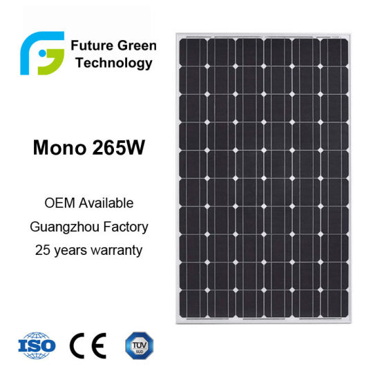230W 240W 250W 265W Photovoltaic Solar Cell Panel pictures & photos